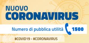 Indicazioni nuovo corona virus