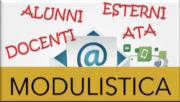 Modulistica per alunni, docenti, ATA ed esterni